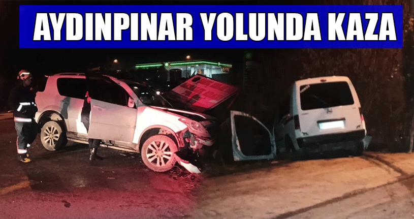 2 Araç Çarpıştı: 1 Kişi Yaralandı