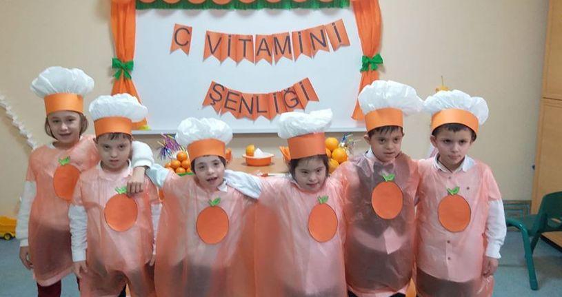 C Vitamini şenliği yaptılar