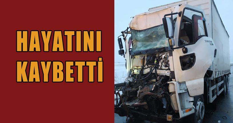 TEM Otoyolu'nda kaza: 1 ölü