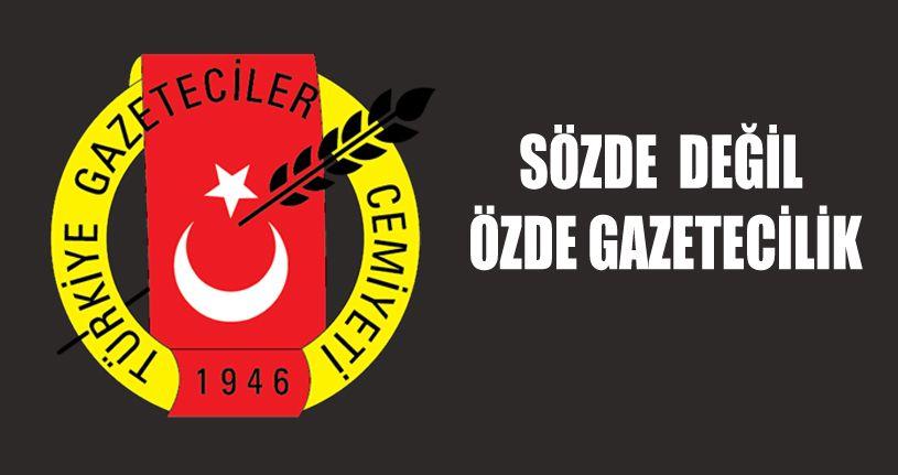 Düzce Gazeteciler  Cemiyeti Başkanı Erol Tayhan'ın açıklaması