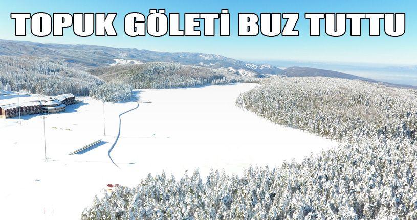 Topuk Göleti Buz Tuttu