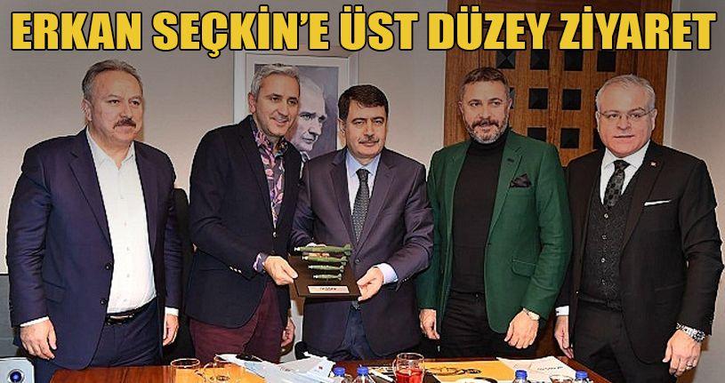 Erkan Seçkin'e Üst Düzey Ziyaret