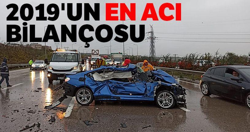 Yollarda 2 bin 524 kişi hayatını kaybetti