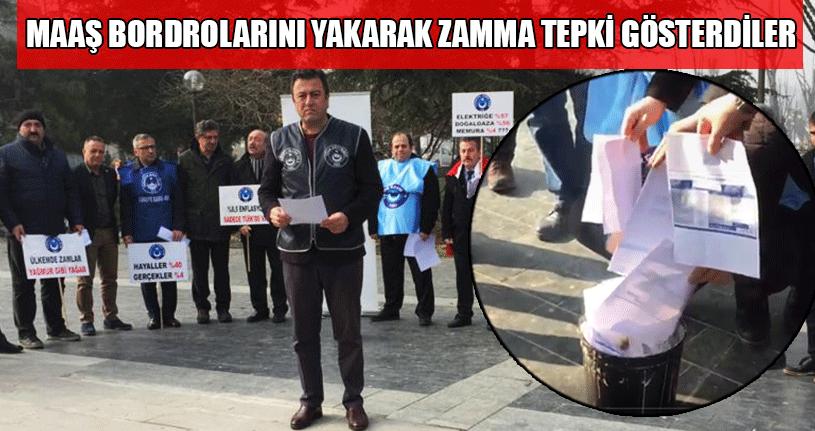 Türk Eğitim Sen'den Verilen Zamma Tepki