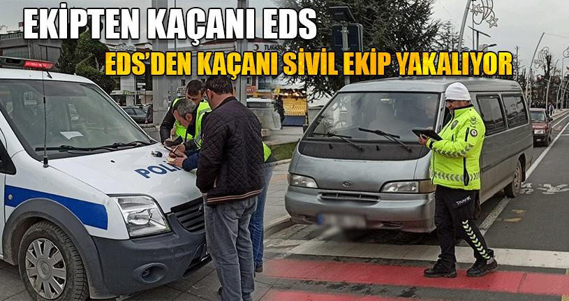 Sivil Trafik Ekipleri İş Başında