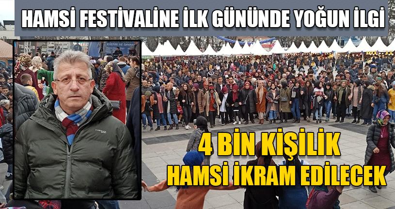 Hamsi Festivali 3 Gün Boyunca Sürecek