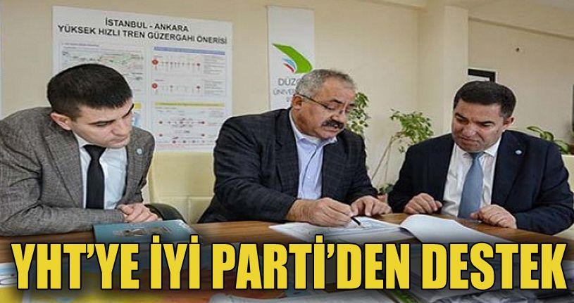 Ayhan Şamandar'a İYİ Parti'den Destek