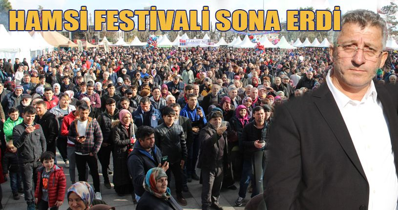 Hamsi Festivali sona erdi