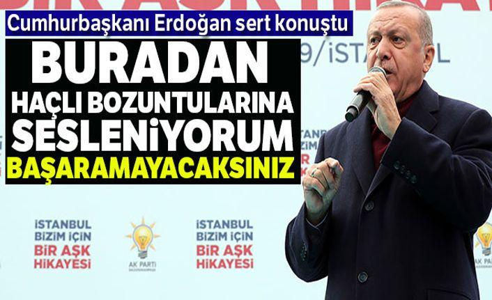 Cumhurbaşkanı Erdoğan: 'Biz bu dünyada yeniden bir haçlı-hilal mücadelesi istemiyoruz'