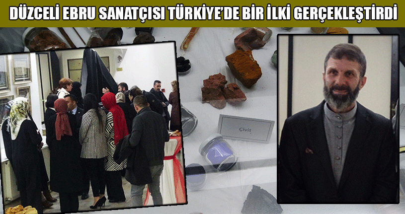 Bursa'da Açtığı Sergi Büyük İlgi Gördü
