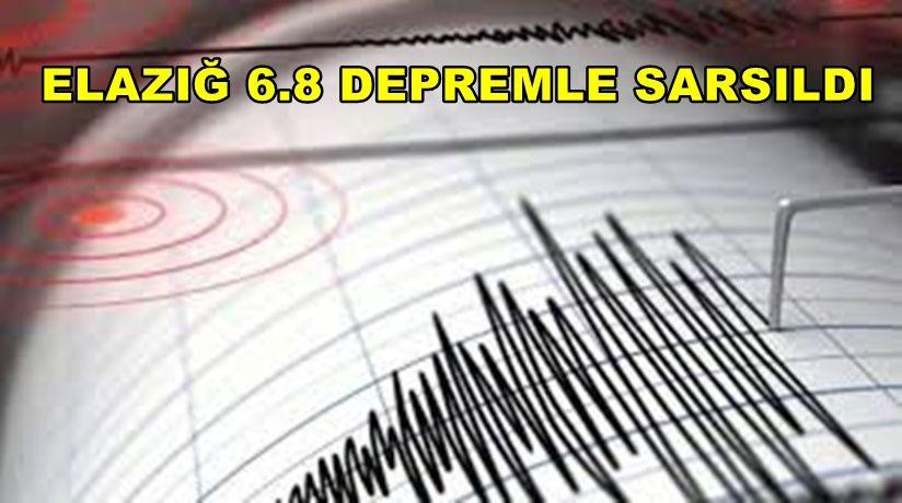 Elazığ'da Çok Büyük Deprem