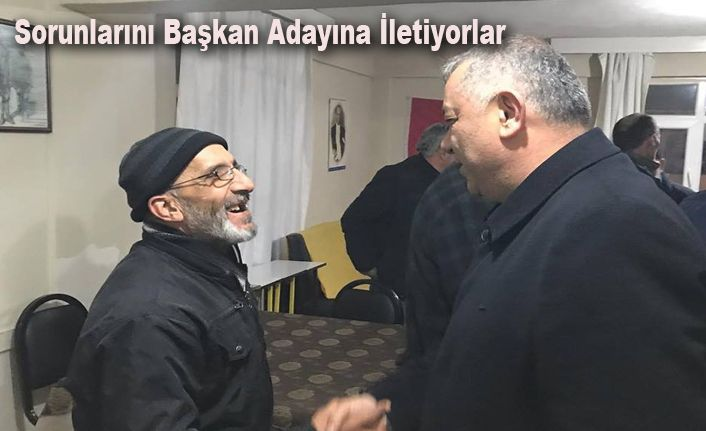 Erdoğan Bıyık'ı Gören Dosya Teslim Ediyor
