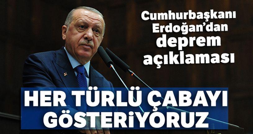 Cumhurbaşkanı Erdoğan: 'Vatandaşların mağduriyet yaşamaması için her türlü çabayı gösteriyoruz'