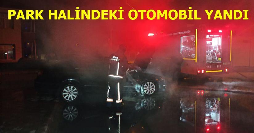 Alevleri Gören Komşular Diğer Otomobilleri Kurtardı