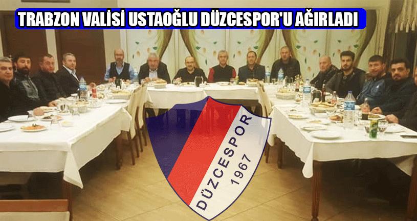 Vali Ustaoğlu'ndan Düzcespor'a Jest