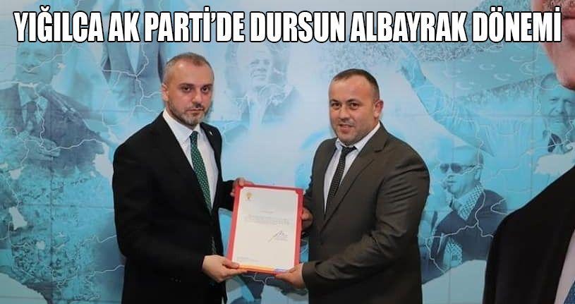 AK Parti Yığılca ilçe Başkanı Dursun Albayrak oldu