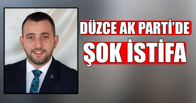 AK Parti Düzce Teşkilatında İstifa!