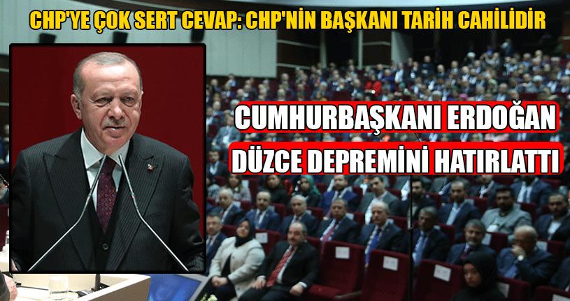 Cumhurbaşkanı Erdoğan İl Başkanları Toplantısında Konuştu