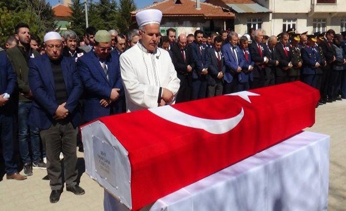 Şehit Uzman Çavuş Yaşar Çakır, son yolculuğuna uğurlandı