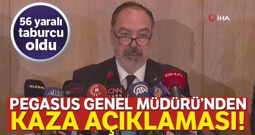 Pegasus Hava Yolları Genel Müdürü Mehmet Tevfik Nane: 'Maalesef 3 vefatımız oldu'