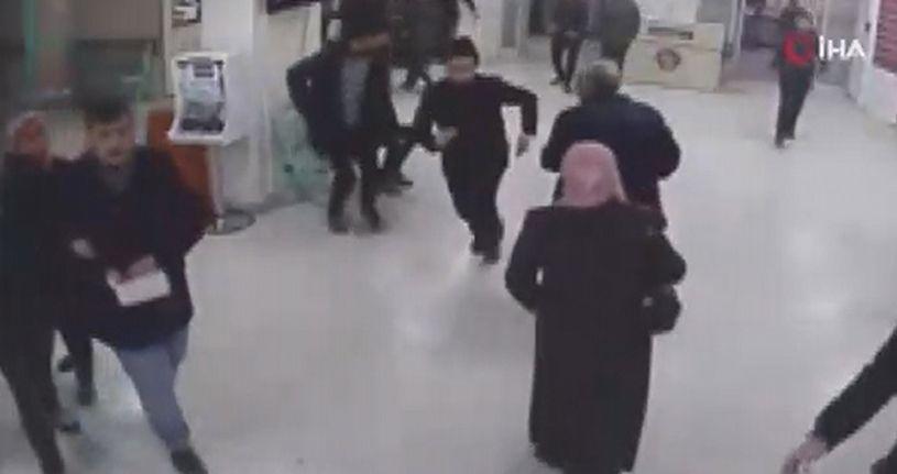 Elazığ depreminin şiddeti hastanedeki kameralara böyle yansıdı