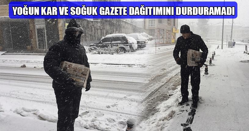 Zor Şartlara Rağmen Gazeteler Abonelerine Ulaştı