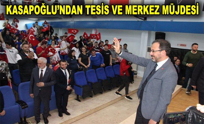 """Bakan Kasapoğlu; """"Sporu okul öncesine taşıyacağız"""""""