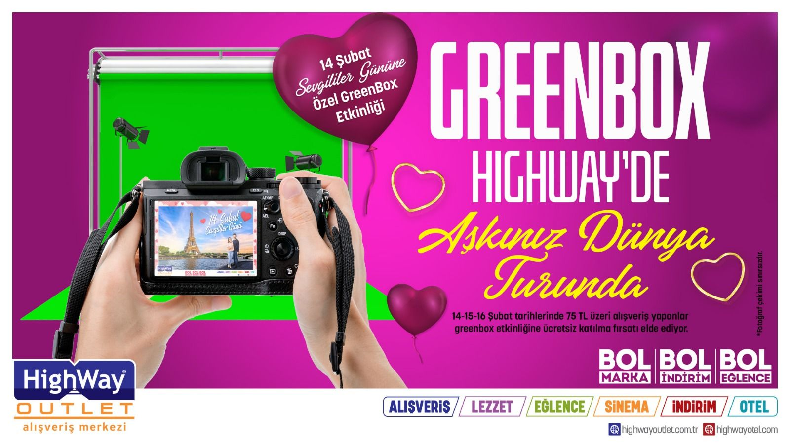 Greenbox Hıghway'de Aşkınız Dünya Turunda
