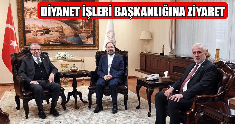 AK Parti'den Diyanet İşleri Başkanı Erbaş'a Ziyaret