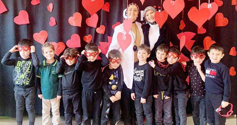 Sevgi Günü etkinliğine katıldı