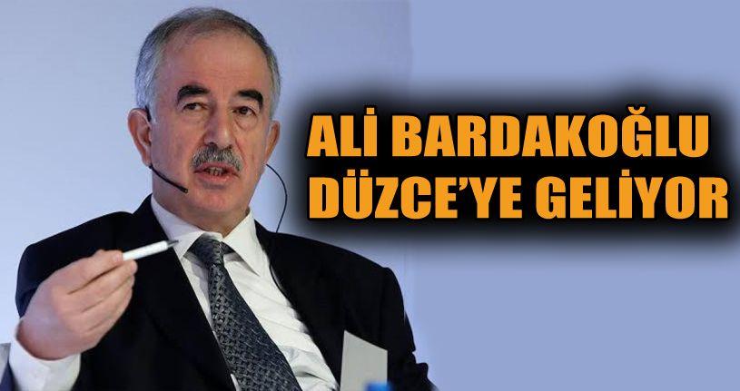 Prof.Dr Ali Bardakoğlu Cuma Günü Düzce'ye Geliyor
