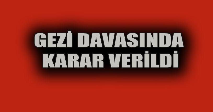 Gezi Parkı davasında 9 sanık beraat etti