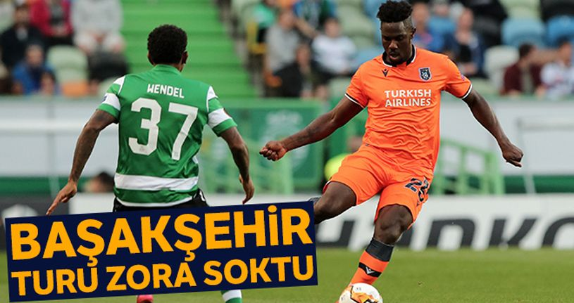 Sporting Lizbon 3 - 1 Başakşehir