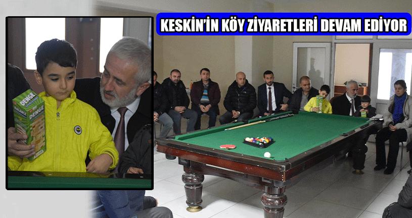 İl Başkanı Köy Halkının Sorunlarını Dinledi