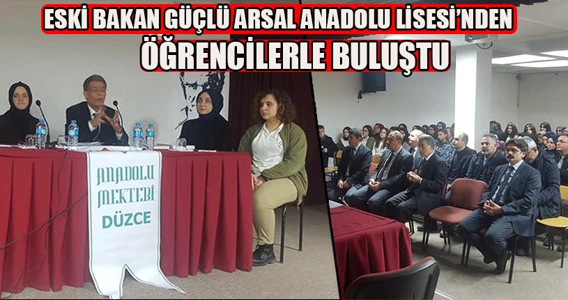 Sami Güçlü Anadolu Mektebi Yazar Okumaları Programına Katıldı