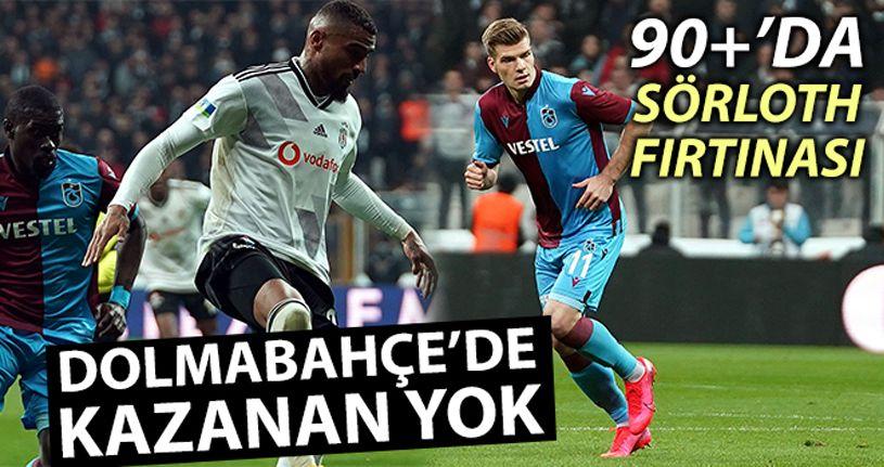 Beşiktaş 2 - 2 Trabzonspor