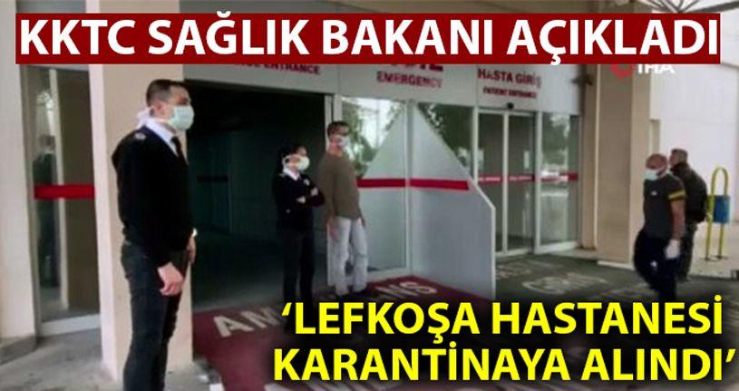 KKTC Sağlık Bakanı Pilli: