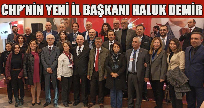 CHP Düzce İl Başkanı Haluk Demir Oldu