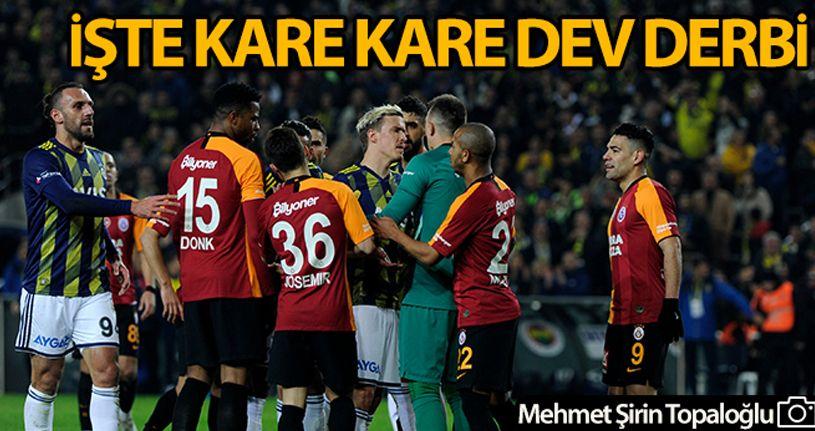Galatasaray 20 yıl sonra Kadıköy'de galip geldi