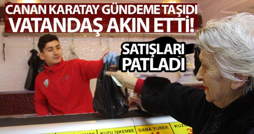 Canan Karatay gündeme taşıdı, vatandaş akın etti!