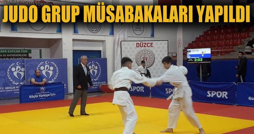 Judo grup müsabakaları Düzce'de yapıldı