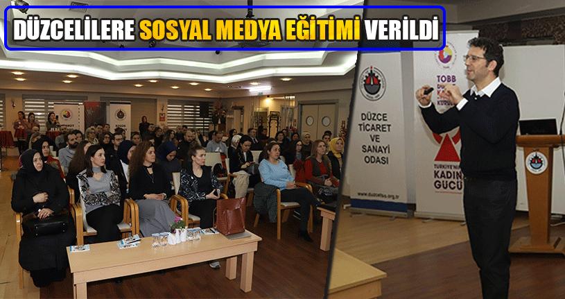 İşin Uzmanından Sosyal Medya Eğitimi