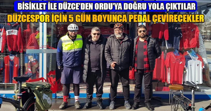 Düzcespor Gönüllülerini Başkan Kapoğlu Uğurladı