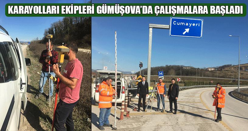 Gümüşova'da Çalışmalar Başladı