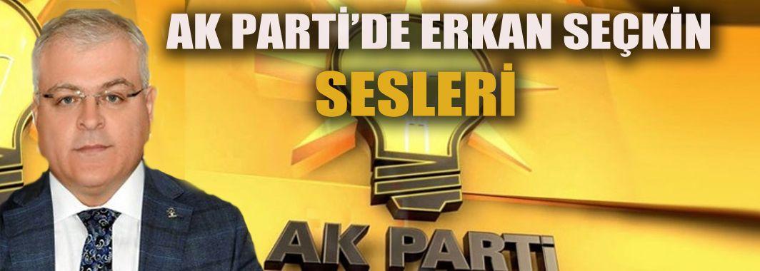 AK Parti'de Erkan Seçkin sesleri