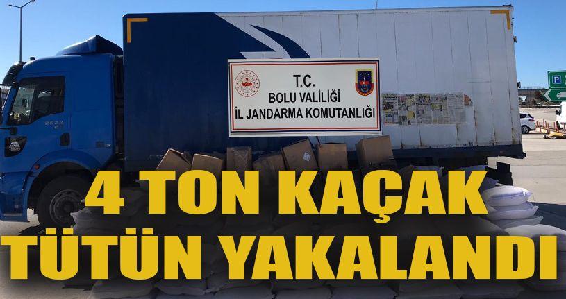 3 bin 920 kilogram kaçak tütün ele geçirildi