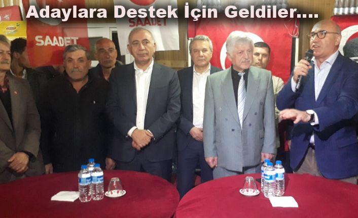 CHP'li vekillerden Saadet  adayına tam destek