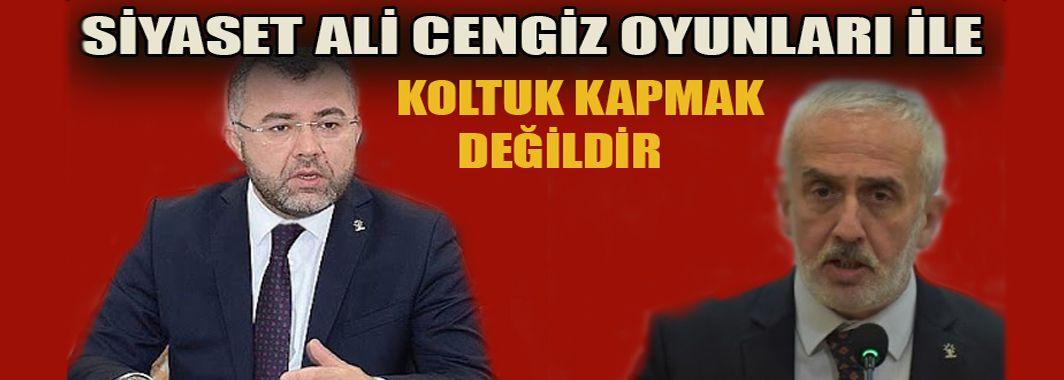 Hikmet Keskin'den Mustafa Keskin'e Sert Sözler