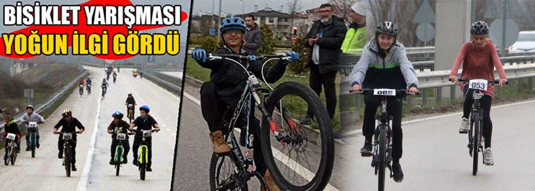 Okullar Arası Bisiklet Yarışması Düzenlendi