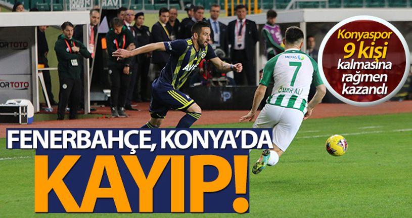 Konyaspor: 1-0 Fenerbahçe